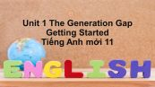 Unit 1: The Generation Gap-Getting Started