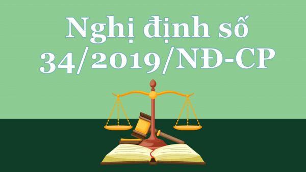 Nghị định 34/2019/NĐ-CP quy định về cán bộ, công chức cấp xã