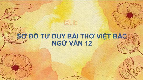 Sơ đồ tư duy bài thơ Việt Bắc Ngữ Văn 12