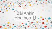Hoá học 11 Bài 32: Ankin