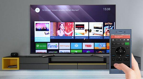 Điều khiển Smart TV Sony thông qua ứng dụng TV SideView trên điện thoại di động