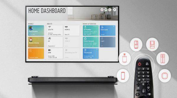 Hướng dẫn kết nối điều khiển thông minh Magic Remote với Smart TV LG