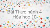 Hoá học 10 Bài 31: Bài thực hành số 4 Tính chất của oxi, lưu huỳnh