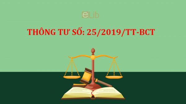 Thông tư số 33/2019/TT-BCT quy định tiêu chí của chương trình thương hiệu quốc gia Việt Nam