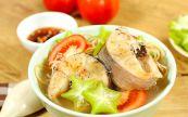 Canh chua cá lóc nấu khế