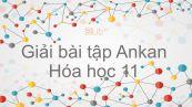 Giải bài tập SGK Hóa 11 Bài 25: Ankan