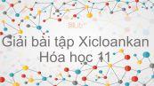 Giải bài tập SGK Hóa 11 Bài 26: Xicloankan