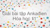 Giải bài tập SGK Hóa 11 Bài 30: Ankađien