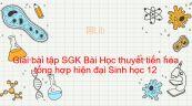 Giải bài tập SGK Sinh học 12 Bài 26: Học thuyết tiến hóa tổng hợp hiện đại