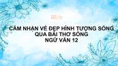 Cảm nhận vẻ đẹp hình tượng sóng trong bài thơ Sóng của Xuân Quỳnh