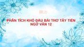 Phân tích khổ đầu bài thơ Tây Tiến của Quang Dũng