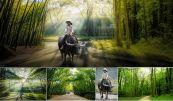 Cách ghép 2 hình khác nhau bằng phần mềm Photoshop