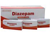 Thuốc Diazepam - An thần, điều trị các triệu chứng cai rượu và co giật