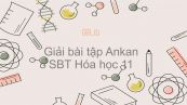 Giải bài tập SBT Hóa 11 Bài 25: Ankan