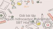Giải bài tập SBT Hóa 11 Bài 37: Nguồn hiđrocacbon thiên nhiên