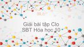 Giải bài tập SBT Hóa 10 Bài 22: Clo