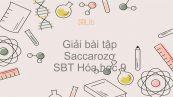 Giải bài tập SBT Hóa 9 Bài 51: Saccarozơ
