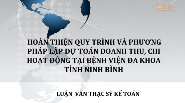 Luận văn ThS: Hoàn thiện tổ chức công tác kế toán tại Công ty TNHH Dược phẩm Hoa Linh