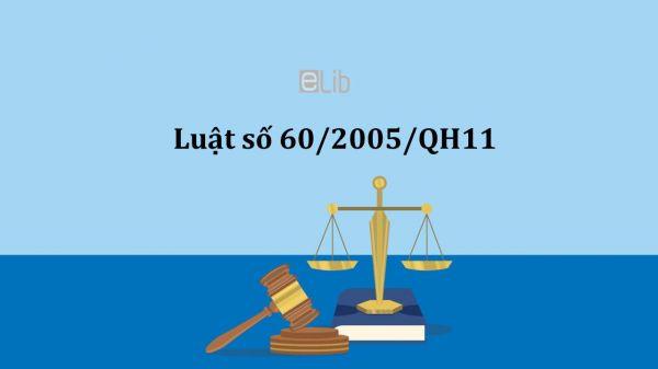 Luật doanh nghiệp năm 2005 số 60/2005/QH11
