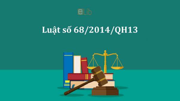 Luật doanh nghiệp năm 2014 số 68/2014/QH13