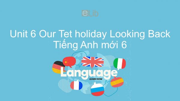Unit 6 lớp 6: Our Tet holiday - Looking Back