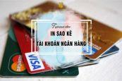 Hướng dẫn cách sao kê tài khoản ngân hàng Vietinbank