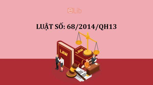 Luật doanh nghiệp số 68/2014/qh13