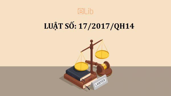 Luật các tổ chức tín dụng số 17/2017/QH14