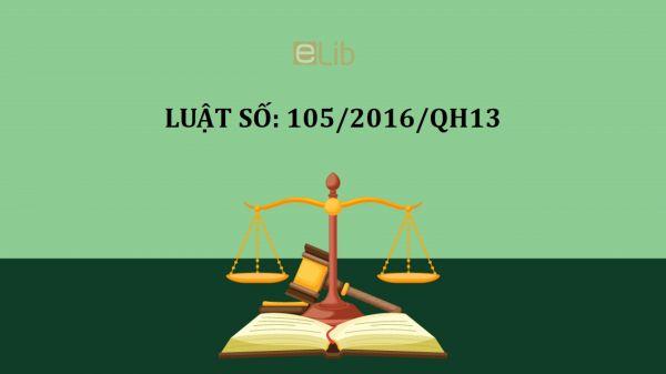 Luật dược số 105/2016/QH13