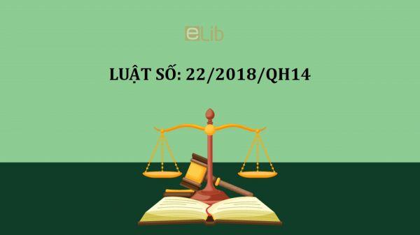 Luật quốc phòng số 22/2018/QH14