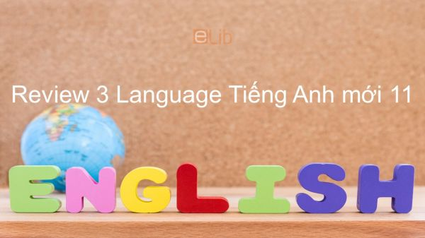 Review 3 lớp 11 - Language