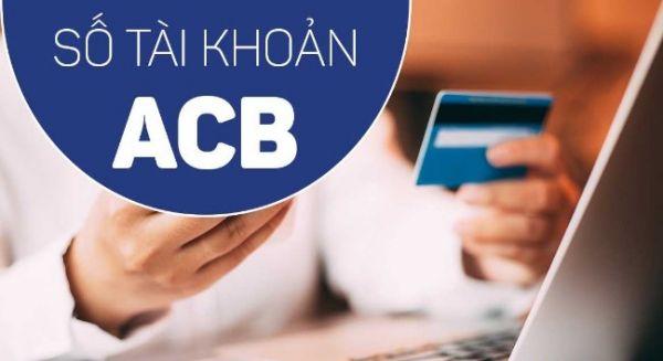Hướng dẫn xem số tài khoản ACB Bank