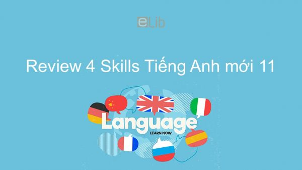 Review 4 lớp 11 - Skills