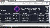 Hướng dẫn thiết lập, định dạng cho khung bản vẽ trong Autocad