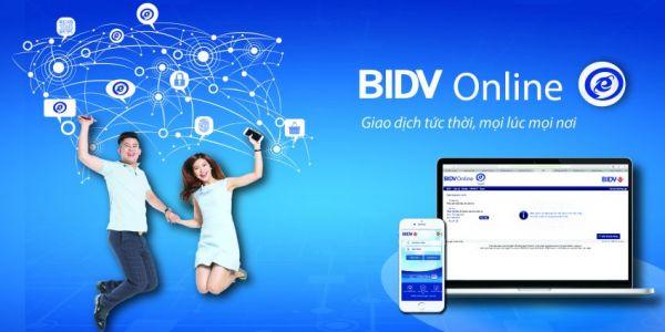 Hướng dẫn sử dụng dịch vụ ngân hàng điện tử của BIDV