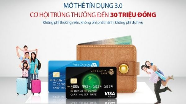 Cách sử dụng thẻ tín dụng ngân hàng Vietcapitalbank