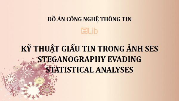 Đồ án: Kỹ thuật giấu tin trong ảnh SES - Steganography Evading Statistical Analyses