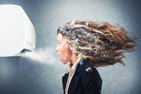 Nguyên nhân và cách khắc phục khi dàn lạnh điều hòa bị đóng tuyết
