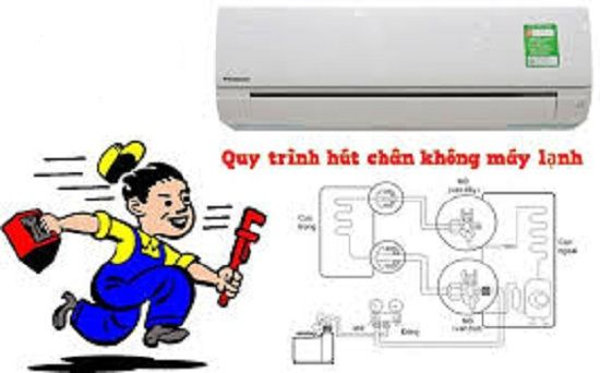 Lý do phải hút chân không trong quá trình lắp đặt máy lạnh?
