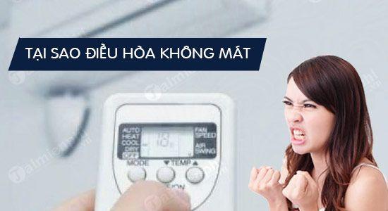 Nguyên nhân khiến máy lạnh của bạn không đủ mát