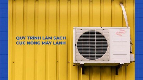 6 bước vệ sinh cục nóng, cục lạnh máy lạnh nhanh chóng tại nhà