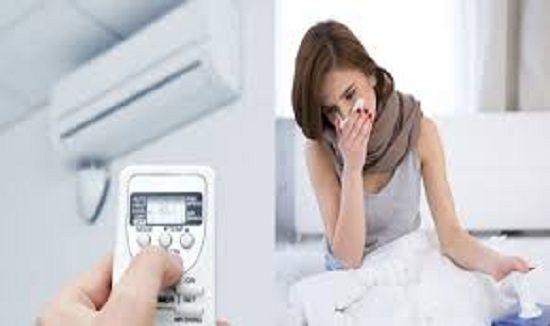 Cách xử lý khi bị cảm do sử dụng máy lạnh, điều hòa?
