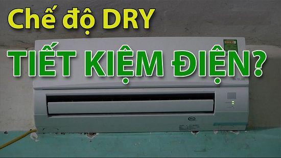 Sử dụng đúng cách điều hòa bằng chế độ Dry để tiết kiệm điện