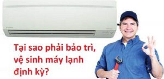Bạn nên bảo trì, vệ sinh máy lạnh định kỳ?