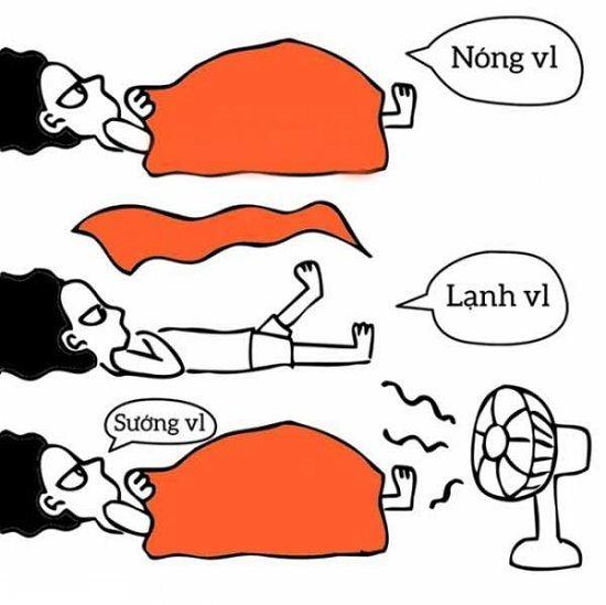 Tác dụng bất ngờ của việc vừa bật điều hòa vừa đắp chăn khi ngủ