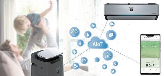Điều cần biết về công nghệ AIoT trên máy lạnh Sharp