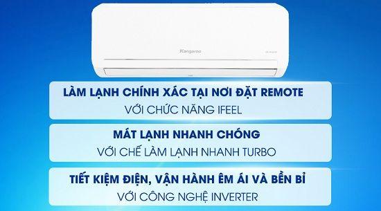 Các công nghệ nổi bật trên máy lạnh của hãng Kangaroo