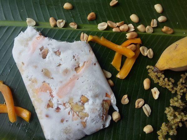 Cách làm kem chuối kiểu Thái đơn giản