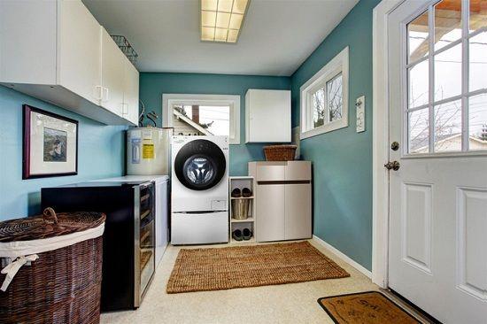 Cách bố trí máy giặt để tiết kiệm diện tích cho nhà nhỏ