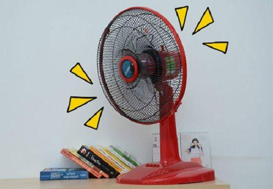 Giải đáp thắc mắc vì sao càng dùng quạt lại càng thấy nóng?